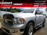 2011 Bright Silver Metallic Dodge Ram 1500 Big Horn Crew Cab #66080055