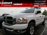 2006 Bright White Dodge Ram 1500 SLT Quad Cab #66080042