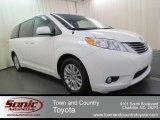 2011 Super White Toyota Sienna XLE #66080269