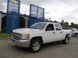 2012 Summit White Chevrolet Silverado 1500 LT Crew Cab 4x4 #66121889