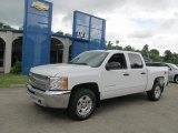 2012 Summit White Chevrolet Silverado 1500 LT Crew Cab 4x4 #66121888