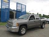 2012 Graystone Metallic Chevrolet Silverado 1500 LT Crew Cab 4x4 #66121887
