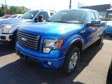 2012 Blue Flame Metallic Ford F150 FX4 SuperCab 4x4 #66122292