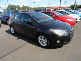 2012 Tuxedo Black Metallic Ford Focus SE Sport 5-Door #66122289
