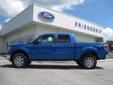 2012 Blue Flame Metallic Ford F150 XLT SuperCrew 4x4 #66121860