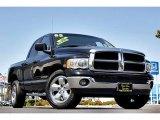 2005 Black Dodge Ram 1500 SLT Quad Cab #66122721