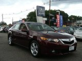 2009 Basque Red Pearl Acura TSX Sedan #66121842