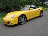 2009 Porsche 911 Speed Yellow