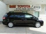 2012 Black Toyota Sienna Limited AWD #66121805