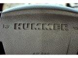 2003 Hummer H2 SUV Marks and Logos
