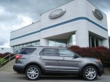 2013 Sterling Gray Metallic Ford Explorer XLT 4WD #66121786