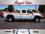 2008 Bright White Dodge Ram 3500 ST Quad Cab 4x4 #66121772