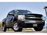 2007 Black Chevrolet Silverado 1500 LT Crew Cab #66122671