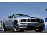 2007 Satin Silver Metallic Ford Mustang GT Premium Convertible #66122659