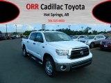 2012 Super White Toyota Tundra SR5 TRD CrewMax 4x4 #66122185