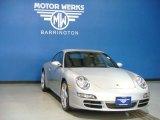 2007 Arctic Silver Metallic Porsche 911 Carrera Coupe #66121713