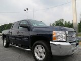 2012 Imperial Blue Metallic Chevrolet Silverado 1500 LT Crew Cab #66122137