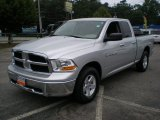 2011 Bright Silver Metallic Dodge Ram 1500 SLT Quad Cab 4x4 #66121693