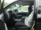 2012 Toyota Tundra TRD Sport Double Cab Black Interior