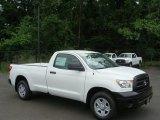 2012 Super White Toyota Tundra Regular Cab #66122099
