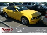 2006 Screaming Yellow Ford Mustang GT Deluxe Convertible #66121659