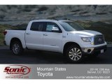 2012 Super White Toyota Tundra Platinum CrewMax 4x4 #66121647