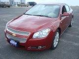 2008 Red Jewel Tint Coat Chevrolet Malibu LTZ Sedan #6560567