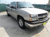 2005 Silver Birch Metallic Chevrolet Silverado 1500 LS Extended Cab #66122086