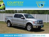 2010 Ingot Silver Metallic Ford F150 Lariat SuperCrew 4x4 #66122565