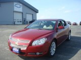 2008 Red Jewel Tint Coat Chevrolet Malibu LTZ Sedan #6560569