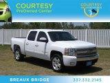 2008 Summit White Chevrolet Silverado 1500 LT Crew Cab #66122564