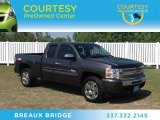 2010 Taupe Gray Metallic Chevrolet Silverado 1500 LT Extended Cab #66122561