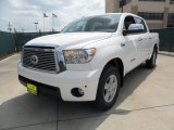 Super White Toyota Tundra in 2012