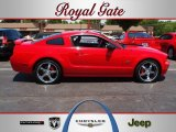 2005 Torch Red Ford Mustang GT Deluxe Coupe #66122554