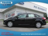 2012 Tuxedo Black Metallic Ford Focus SE Sedan #66079962