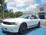 2011 Performance White Ford Mustang Roush Sport Convertible #66121946