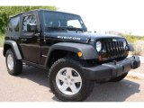 2011 Black Jeep Wrangler Rubicon 4x4 #66079944