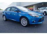 2012 Blue Candy Metallic Ford Focus Titanium Sedan #66121987