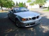 2004 Titanium Silver Metallic BMW 3 Series 325i Convertible #66122382