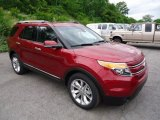 2013 Ruby Red Metallic Ford Explorer Limited 4WD #66207601