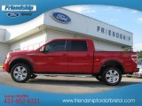 2010 Vermillion Red Ford F150 FX4 SuperCrew 4x4 #66207562
