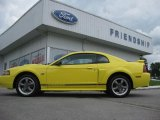 2001 Zinc Yellow Metallic Ford Mustang GT Coupe #66207560