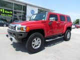 2009 Victory Red Hummer H3  #66207941