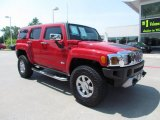 2009 Hummer H3  Front 3/4 View