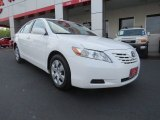 2008 Super White Toyota Camry LE V6 #66207546