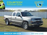 2003 Light Pewter Metallic Chevrolet Silverado 1500 LT Extended Cab 4x4 #66208233