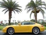 2011 Porsche 911 Speed Yellow
