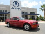 2005 Redfire Metallic Ford Mustang V6 Deluxe Coupe #66207434
