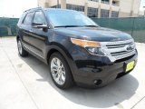2013 Tuxedo Black Metallic Ford Explorer XLT #66207806