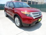 2013 Ruby Red Metallic Ford Explorer XLT #66207805